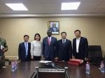 隋忠诚副省长率团出访加纳 - 商务厅