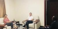 李心球副厅长拜访科特迪瓦驻华大使阿达玛 - 商务厅