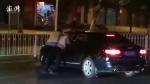 永州一奥迪车驾驶员遇查酒驾咬伤交警后逃逸 警方介入调查 - 新浪湖南