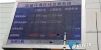 近日,长沙市220kV芙蓉变电站装设并投运了湖南省首个电磁环境在线监测系统。国网湖南省电力有限公司 供图。 - 新浪湖南