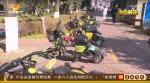 △ 在万家丽广场附近,这里是一处共享电单车的规范停车点,去年这的电单车曾经堆满了整条人行道,经过清理,人行道已经空了出来可以正常通行。 - 新浪湖南